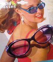 Очки для вечеринки с металлизорованой оправой 5 цветов