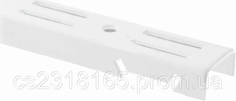 Стойка перфорированная для консольной системы, 500х25мм, белая, коричневая