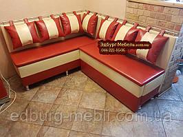 Кухонний диван зі спальним місцем на тонких сидіннях