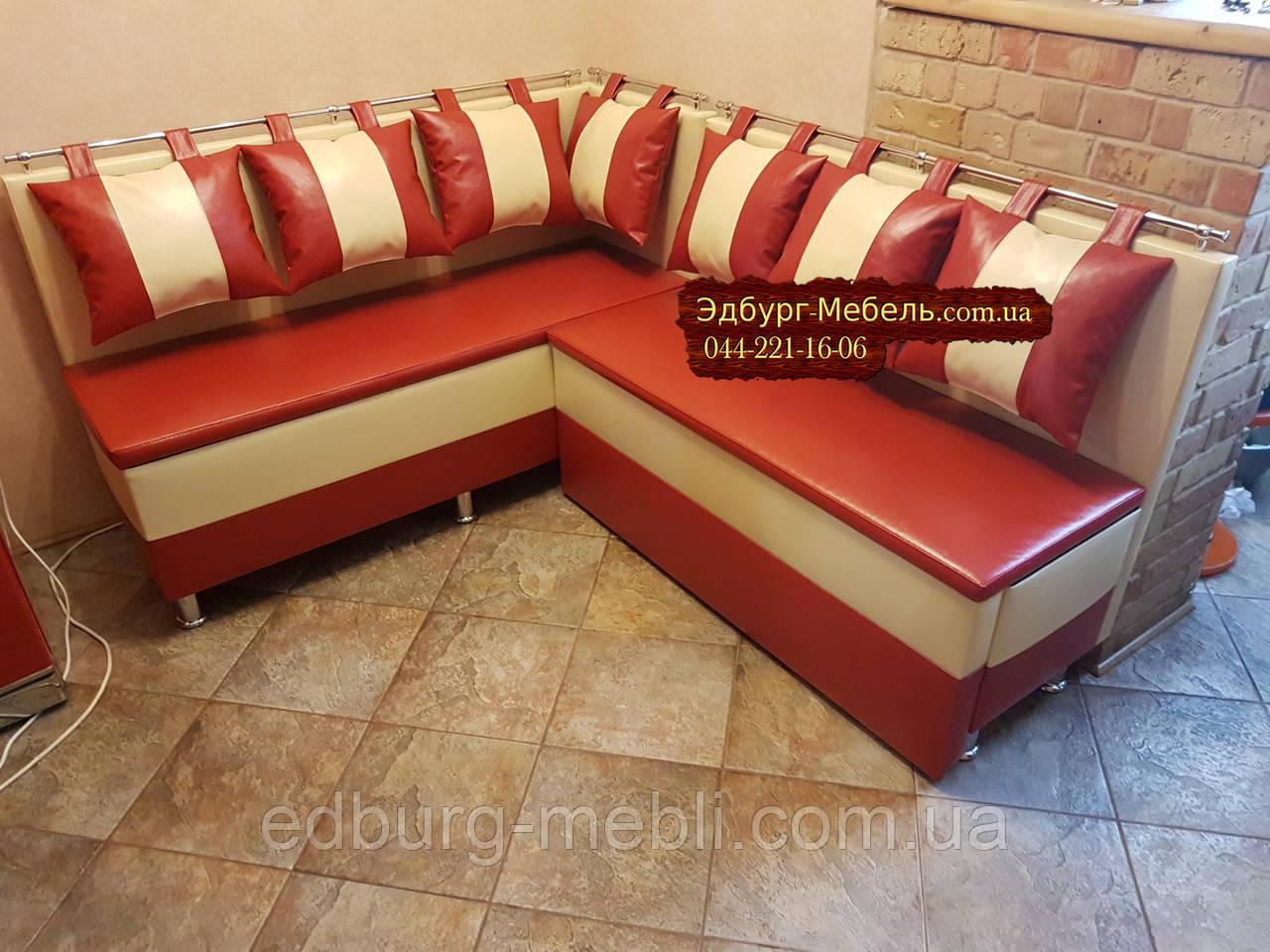 Кухонный диван со спальным местом на тонких сидушках, фото 1