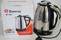 Дисковый электрочайник Domotec DT-801 2200w, фото 1