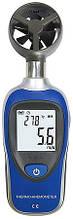 Цифровий анемометр Flus ET-905C (від 0,2 до 30 м/с) з вимірюванням температури повітря