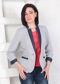 Пиджак трикотажный 3001