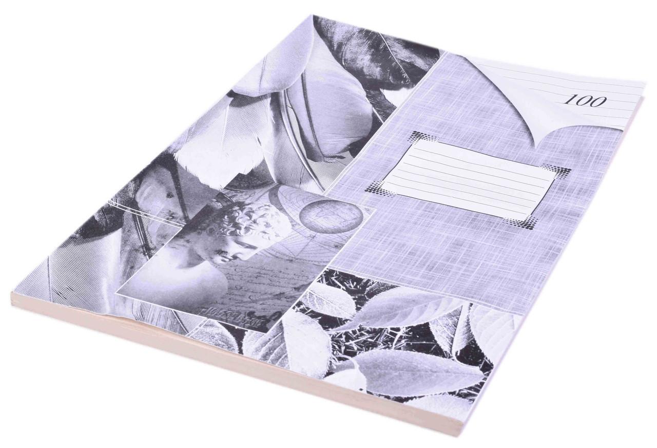 Книга канцелярская A4 100 листов в мягкой обложке