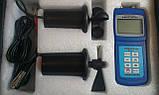 Чашечный анемометр SR5836C (АМ4836С)(0.4-45мс)с флюгером и компасом.С опр. объёма возд. потока и напр. ветра, фото 3