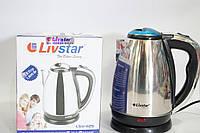 Дисковый электрочайник Livstar LSU 1125 1800w, фото 1