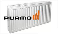 Сталевий радіатор PURMO Ventil Compact {нижнє підключення} 22 тип 450 х 400