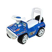 Каталка Джип Орион 419, синий, 64x39х30,5 см
