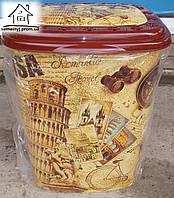 Корзина/Бак для белья Elif Plastik Пиза