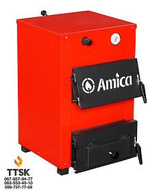 Амика Оптима( Amica Optima) твердотопливный котел мощностью 18 кВт