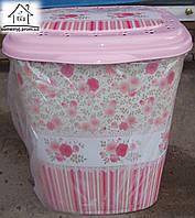 Корзина/Бак для белья Elif Plastik Роза