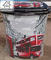 Корзина/Бак для белья Elif Plastik Лондон