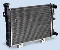 Радиатор вод. охлаждения ВАЗ 2107 инж. (алюм., основной)(пр-во ДААЗ)