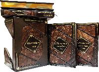 Изменившие Мир Patina agata в 4-х томах переплет ручной работы натуральная кожа Сертификат. Бархатный чехол