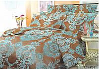 Комплект постельного белья Голубой узор