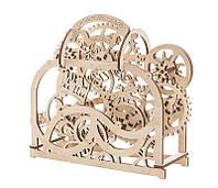 Механический деревянный 3D пазл Театр - «Ukrainian Gears», 820184120174