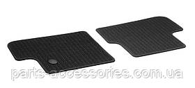 Задні репсові килимки для Mercedes GLA GLA-Class X156 156 2013-17 чорні Нові Оригінальні