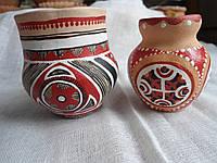 Керамічні маленькі вазочки