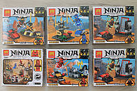 Конструктор Ninja ниндзяго для мальчика 62 элемента