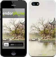 "Чехол на iPhone SE Японский пейзаж ""776c-214"""