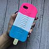 Силиконовый чехол мороженое Pink для iPhone 5/5s/se, фото 4