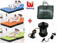 Надувной диван (кровать) 5 в 1 Bestway 67356 (насос+сумка), 188x152x64