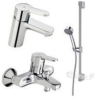 Набор смесителей 3-в-1 Oras Aquita для ванны (2910+2940+520 )