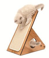 Когтеточка,дряпка для кота  Hagen Vesper Playstation 52071 орех