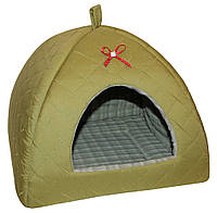 "Домик для собак ""Савана"" №3    (38*38*38см )"