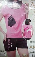 """Женская пижама """"Nicoletta"""" №80661 шорты"""