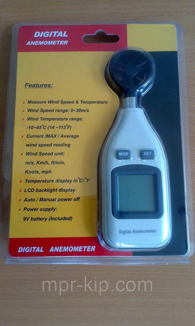 инструкция для анемометр