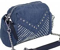 Женская сумка из джинсовой ткани