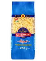 Макароны бантики Gyermelyi csipet 8 tojásos száraztészta 250 g