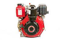Дизельный двигатель WEIMA WM186FB (вал  ШПОНКА), 418cc/диз 9,5л.с., Ручной стартер
