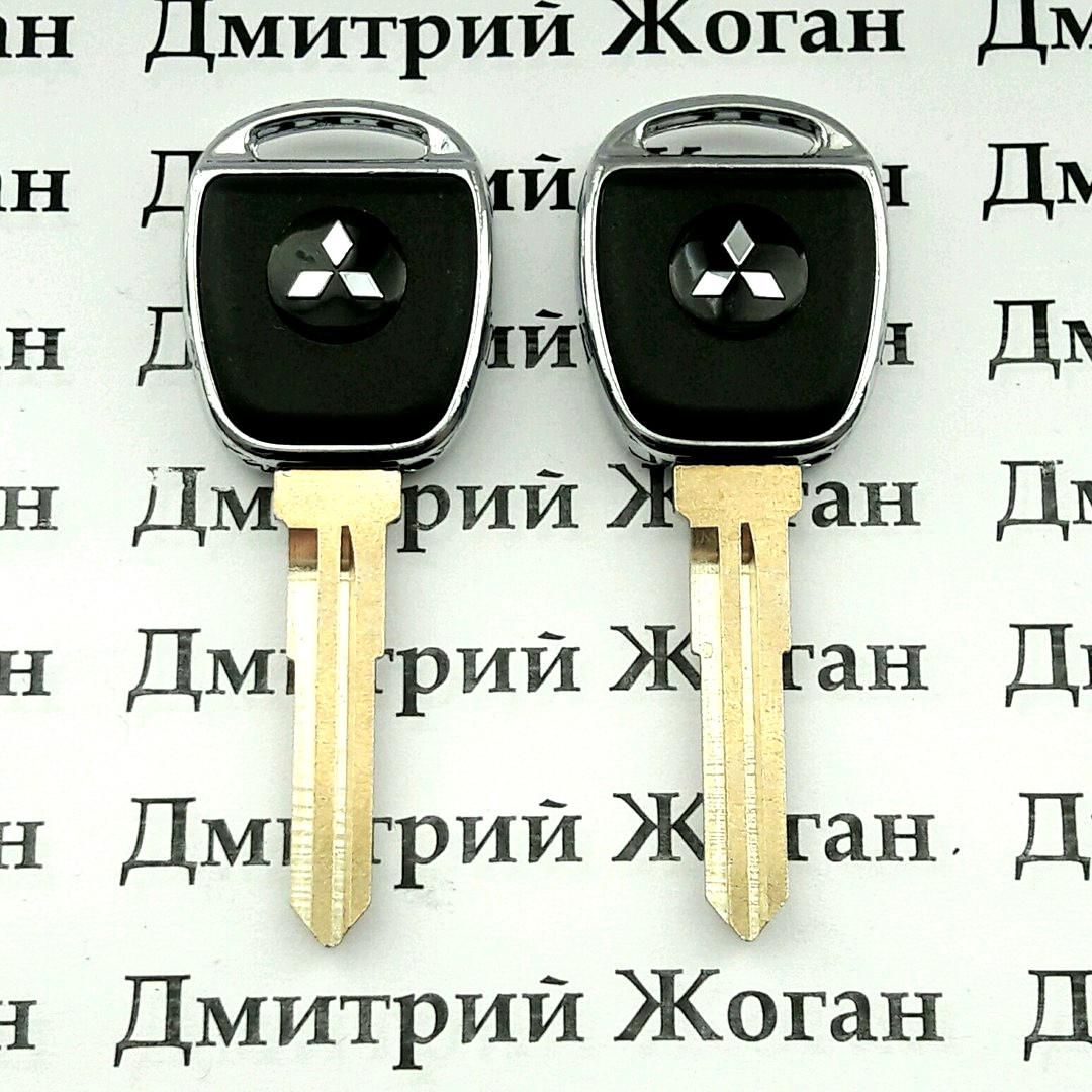 Корпус авто ключа для MITSUBISHI Lancer, ASX (Митсубиси Ланцер)  лезвие MIT11R