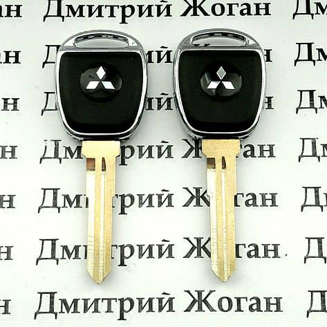 Корпус авто ключа для MITSUBISHI Lancer, ASX (Митсубиси Ланцер)  лезвие MIT11R, фото 2
