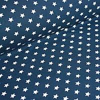 Джерси белые звезды на синем №0046