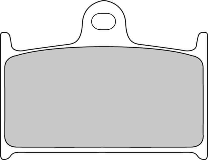 Комплект тормозных колодок Ferodo Platinum FDB557P