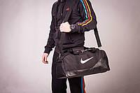 Сумка спортивная, для тренировок, дорожная, через плечо, Nike мужская черный