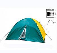 Туристическая палатка Zelart SY 021 6-ти местная. 2-х слойная