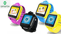 Детские умные смарт часы Smart Baby Watch Q200 с камерой, 3G и GPS трекером (4 цвета). Русский язык! Киев