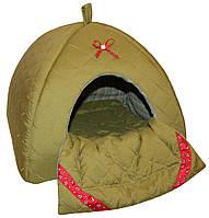 """Домик для собак """"Савана"""" №4 с матрацем-одеялом (42*42*42см)"""