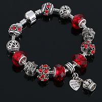 Женский браслет в стиле Pandora Red