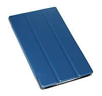 Чехол-книжка для Lenovo Tab 3 8' (850), Dark Blue, искусственная кожа