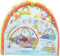 Коврик для малышей с погремушками 131А-1