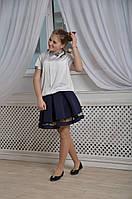 Юбка школьная Маркиза сетка