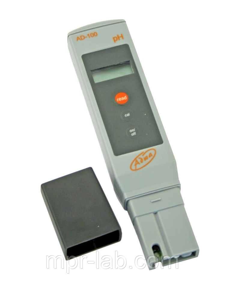 РН-метр Adwa AD100 (РН от -2,0 до 16,0; РН ± 0.1 pH), АТС, автоматическая калибровка. Венгрия
