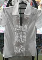 Блузка №10475 белый  р.36-44