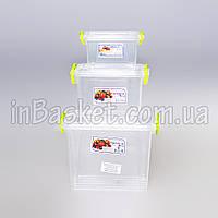 Набор боксов Люкс 4.05 л (3 шт)