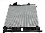 Радиатор охлаждения двигателя на Renault Trafic / Opel Vivaro 1,9dCi (+AC) с 2001... NRF (Дания) NRF58332, фото 4